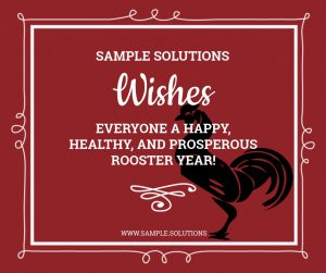 Sample Solutions Happy Rooster Year