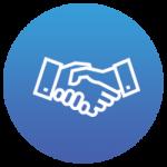 b2b handshake icon
